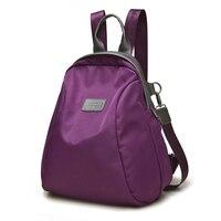 Women Han Edition Street Fashion Ladies Leisure Casual Waterproof Backpack Nylon Oxford Cloth Bag Bag