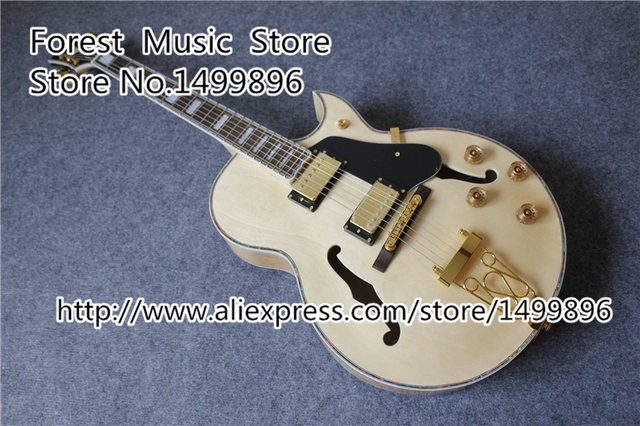 Cheap Hot Selling Maple Hollow Jazz Guitar Body China L5 Electric Guitars For Sale