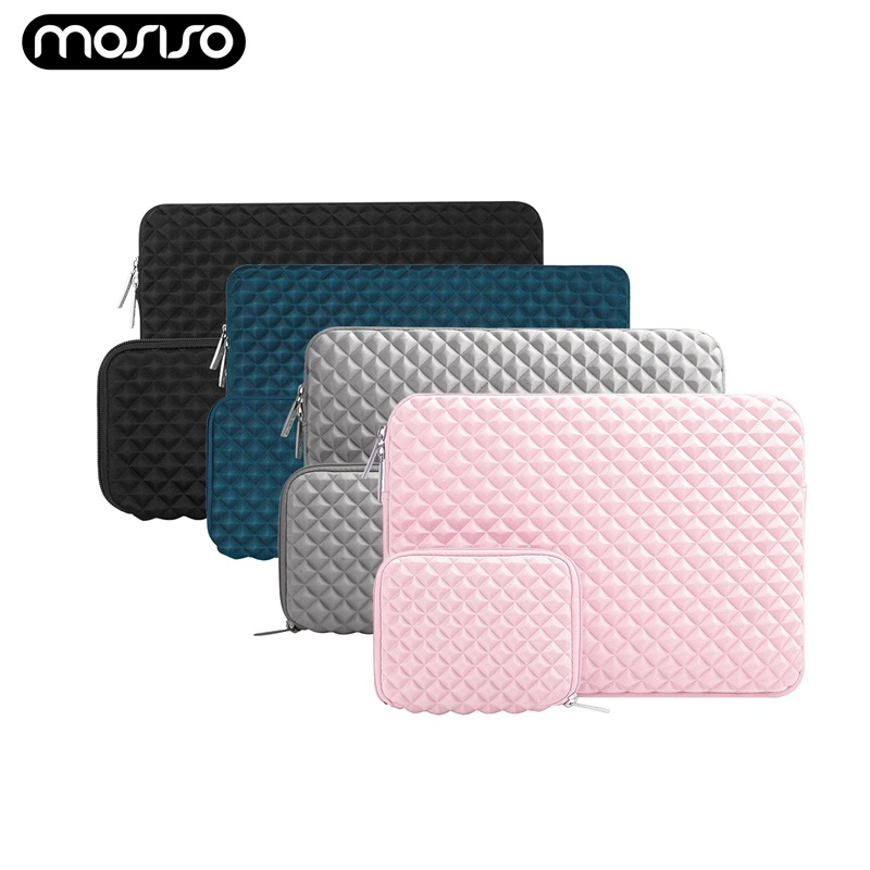 """MOSISO Laptop Sleeve Case For Macbook Air Pro 13.3 15.4 Waterproof Notebook Case Bag For Dell Asus Lenovo HP 11"""" 14"""" 15"""" Cover"""