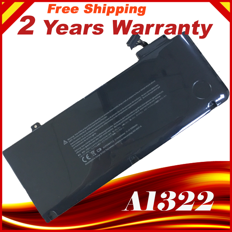OEM A1322 laptop battery For APPLE for MacBook Pro 13  Unibody A1278 MC700 MC374 Mid 2009 2010 2011 bateria akku battery for apple for macbook a1331 a1342 mb134ll mb470ll mc024ll mc226ll mb076ll mb766ll mb604ll 020 6809 a 020 6810 a bateria