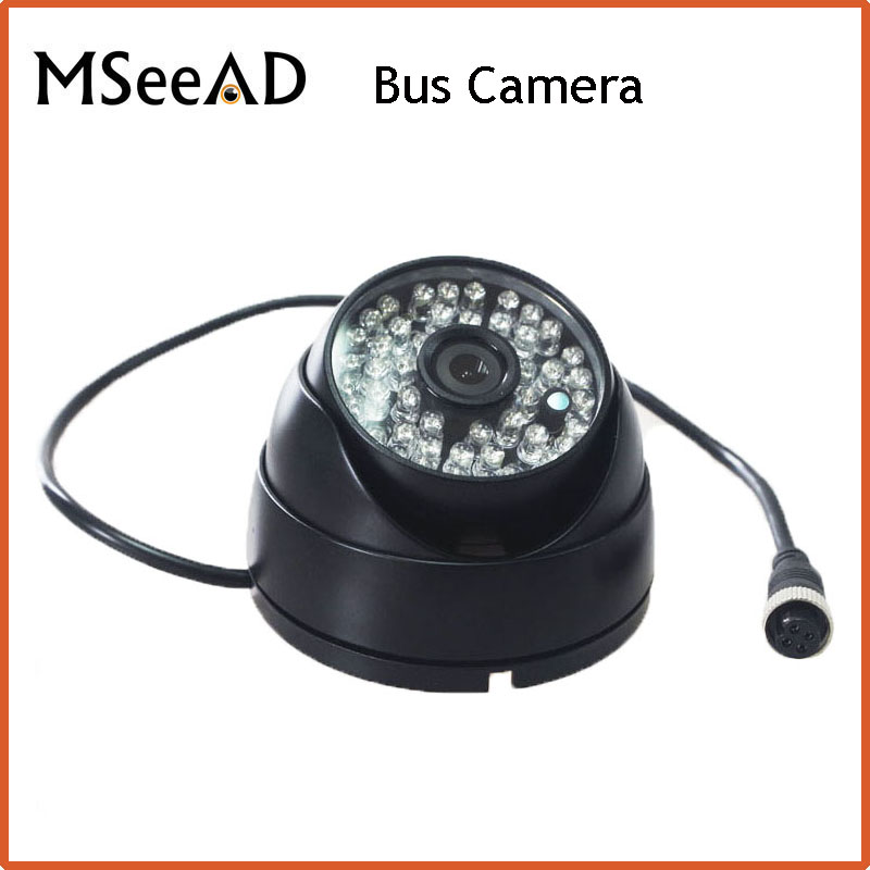 MSeeAD IMX323 AHD 2.0MP 1080P Mini Camera With Audio IR Cut Night Vision Security CCTV Camera for Bus Camera Black Aviation Head orient tk 323