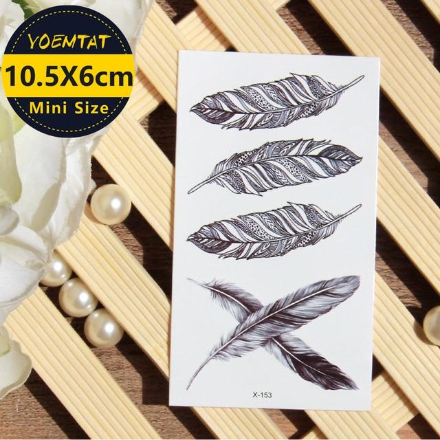 Tattoo Flash Wallpaper By Feathr: 1 Piece Waterproof Temporary Tattoo Sticker Sketch