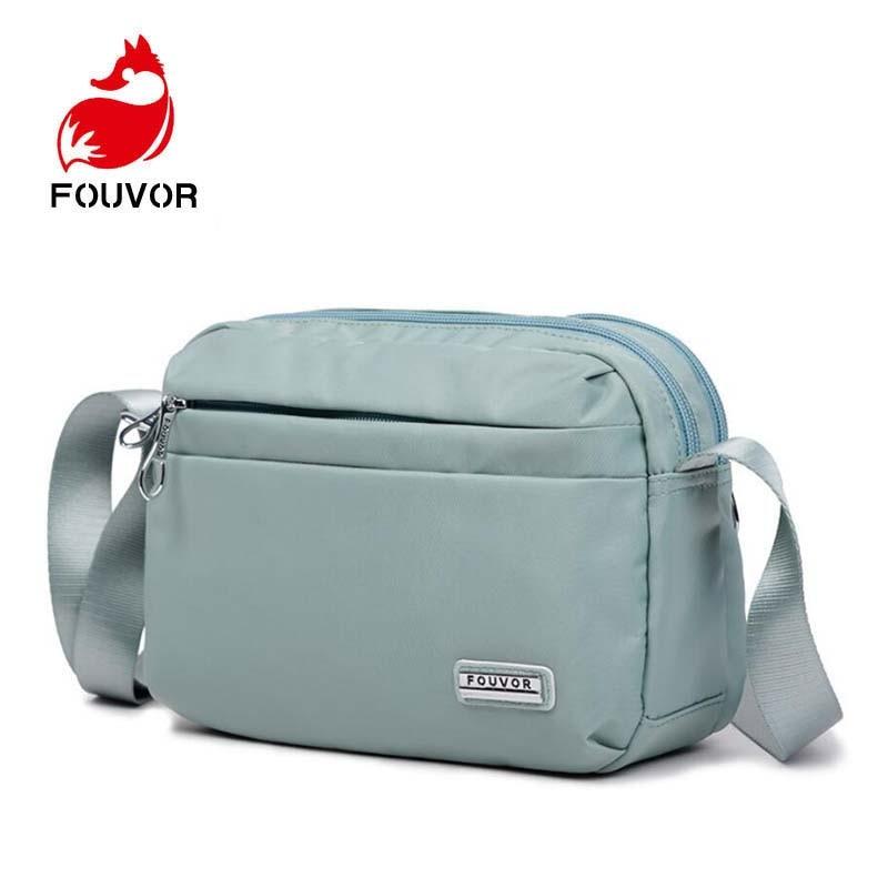 Fouvor Brand Women Messenger Bag High Quality Waterproof Shoulder Bag For Women Casual Travel Crossbody Bag