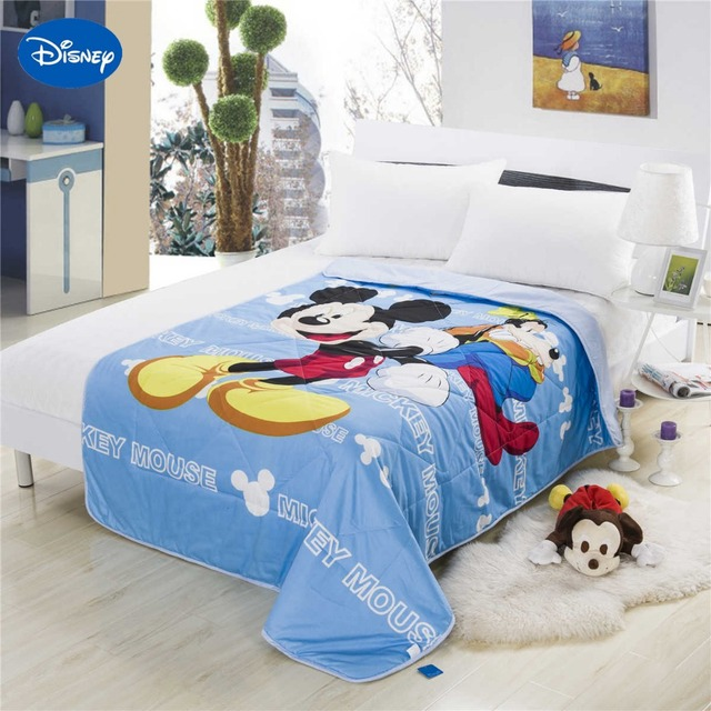 Sweet Blue Mickey Mouse Summer Quilts Comforter Childrens Boys Baby