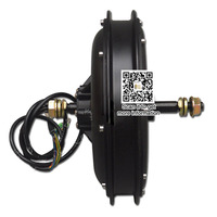 e bike 48v 1500w electric bike hub motor front or rear motor types Brushless Non gear Hub Motor