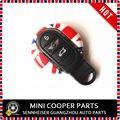 Brand New Mini Cooper Car Key Cap And Lanyard Union Jack Style For Mini Cooper Hardtop F55 F56(2 Pcs/Set)