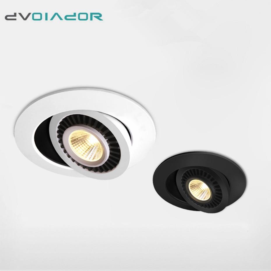 Dimmable Led Down light lamp COB Ceiling Light 5w 7w 10w 12w 85 265V recessed ceiling Innrech Market.com