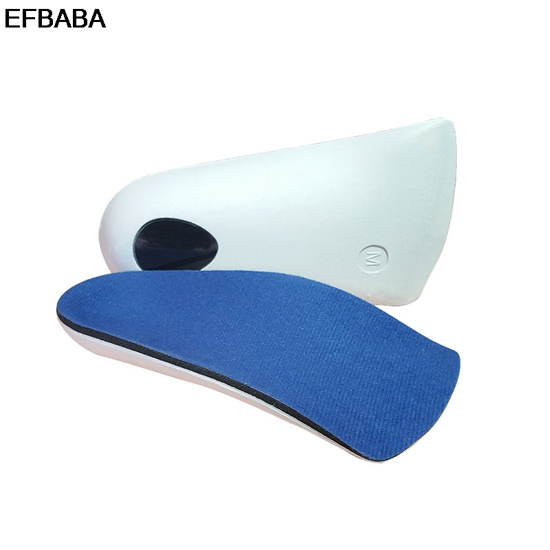 EFBABA Breathable Orthopedic Insoles Flat Foot Corrective Foot Valgus Valgus Arch Support Orthopedic Shoes Insoles pads Inserts