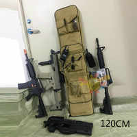 100 120cm Gun Bag Case Rifle Backpack Military Hunting Dual Rifle Bag case Square Carry Bags Outdoor Gun Accessories