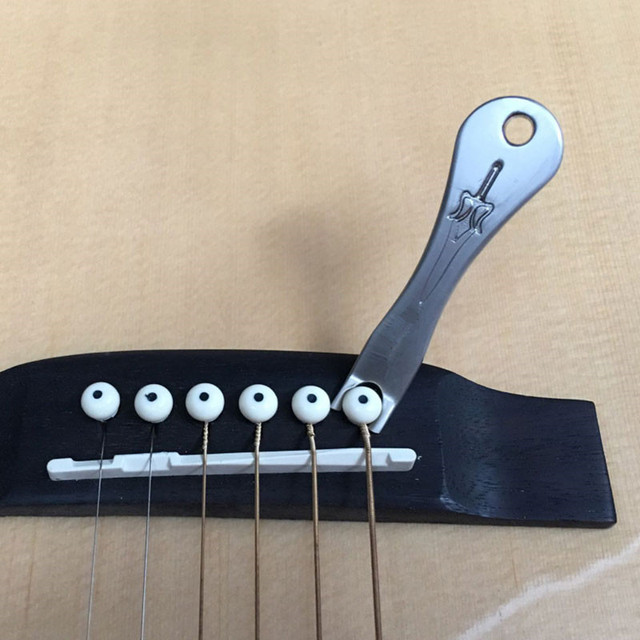 Acoustic Ukulele Bridge Pin Puller