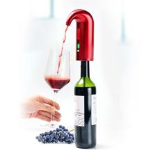 1 Set Electronic Decanter Intelligent Rapid Oxygenating Wine Electronic Decanter Wine Stoppers Pourers Bar Wine Tools itop handmade household red wine decanter wood decanter 6 seconds wine processors with battery