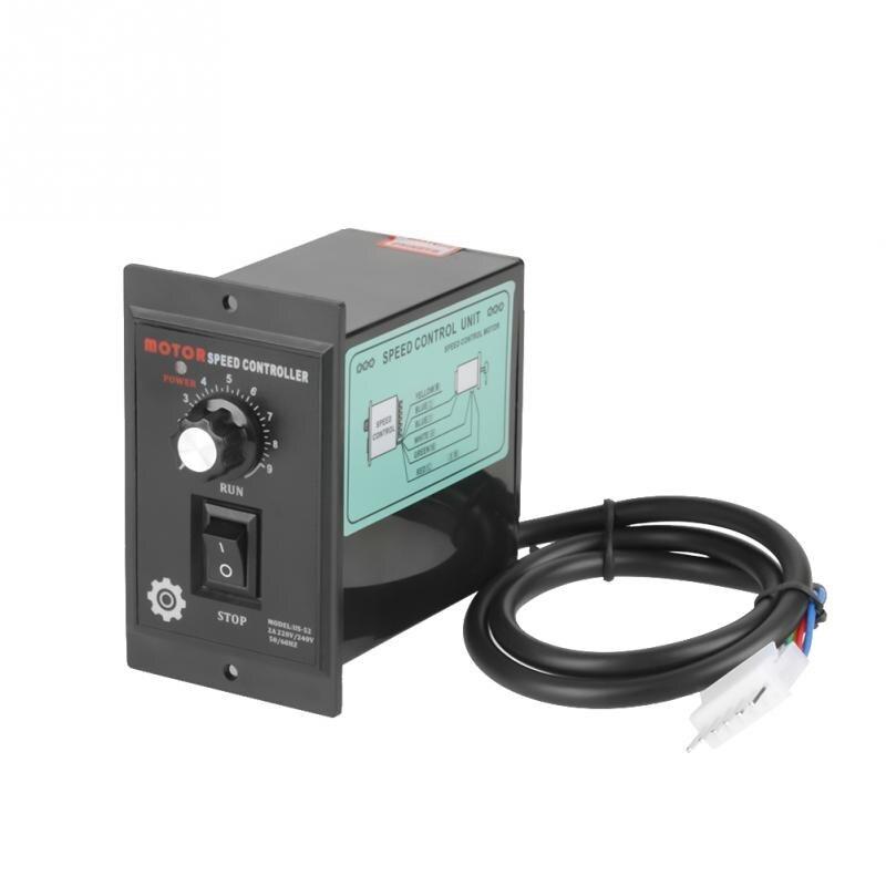 Regulador de velocidad de Motor de 400W CA 220V controlador de precisión hacia adelante y atrás 50/60hz