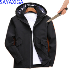 sayaxiga Self Defense Tactical Knife Cut Resistant Hooded Anti Stab Proof