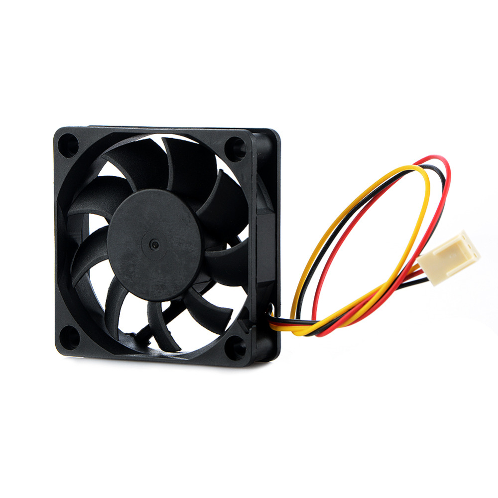 3Pin DC 12V 60*60mm Laptops Cooling Fans For Notebook Computer Cooler Fans Replacement Accessories new laptops replacement cpu cooling fans fit for ibm lenovo r61 r61i r61e mcf 219pam05 42w2779 42w2780 notebook cooler fan p20