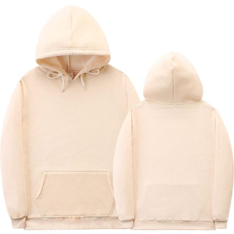 2018 nueva moda Hip hop streetwear Sudadera con capucha de las mujeres de los hombres de blanco sudaderas con capucha sudadera