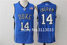 adb6372f ... Brandon Ingram 14 Duke Blue Devils College Throwback Basketball Jersey  Stitched any Number and name ...