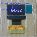 0.49 polegada Oled com Resolução 64x32 e IIC I2C Interface de luz de fundo branca