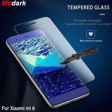 Vidrio Templado Mcdark 9H para Xiaomi Mi 6, película protectora de pantalla de 5,15 pulgadas para Xiaomi Mi6, fácil de instalar película de vidrio, película para teléfono