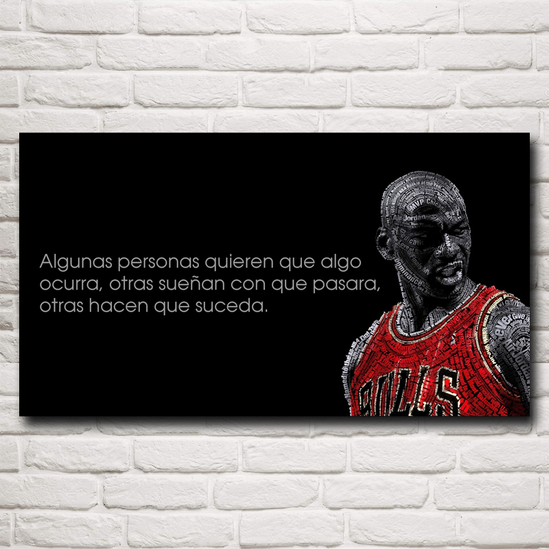 8296c0b4d1 FOOCAME Michael Jordan Basketball Estrela Art Silk Posters and Prints  Pintura Home Decor Parede Pictures Para Sala de estar 20x36 Polegadas