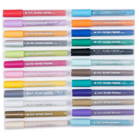MEEDEN Acrylic Paint Markers Pens For Drawing