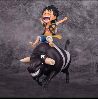 One Piece - Luffy riding Moocy