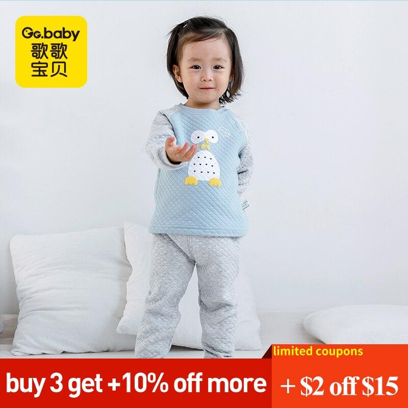 c5be7c717 Comprar Bebê Meninos Roupas Definir Inverno Sleepwear Conjuntos de Roupas  de Bebê Menina Crianças Pijamas das Crianças Pijamas Ternos Para Meninos Set  Para ...