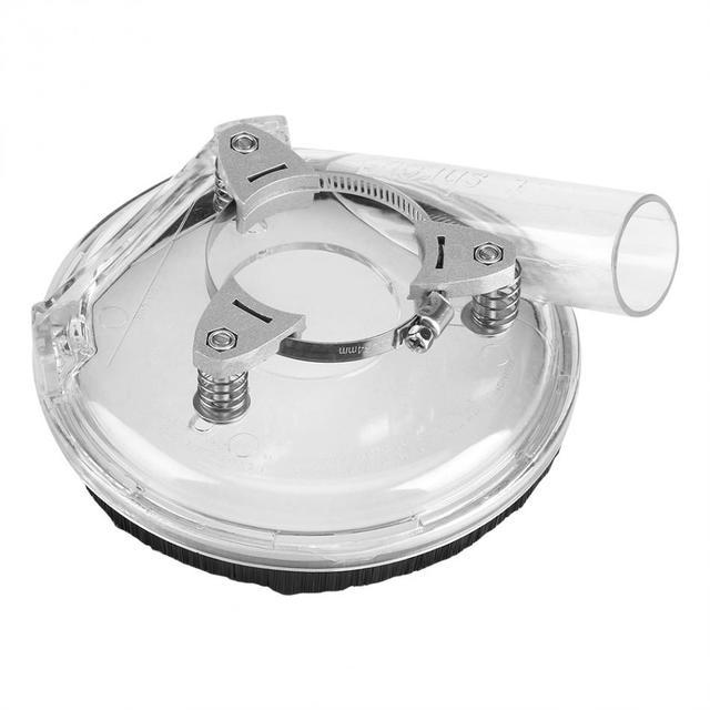 """Kit de cubierta de polvo de molienda en seco cubierta de polvo para amoladora de ángulo de 4 """"/5"""" Accesorios de herramientas eléctricas"""