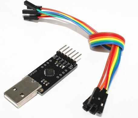 Бесплатная доставка 5 компл. CP2102 модуль STC загрузки USB к TTL отправить DuPont линии, CP2102 разъема модуля