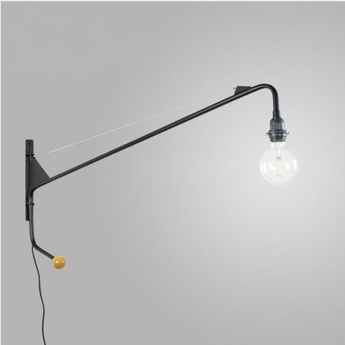 Vintage Pays D Amerique Mur Lampe Loft Applique Murale Design Long