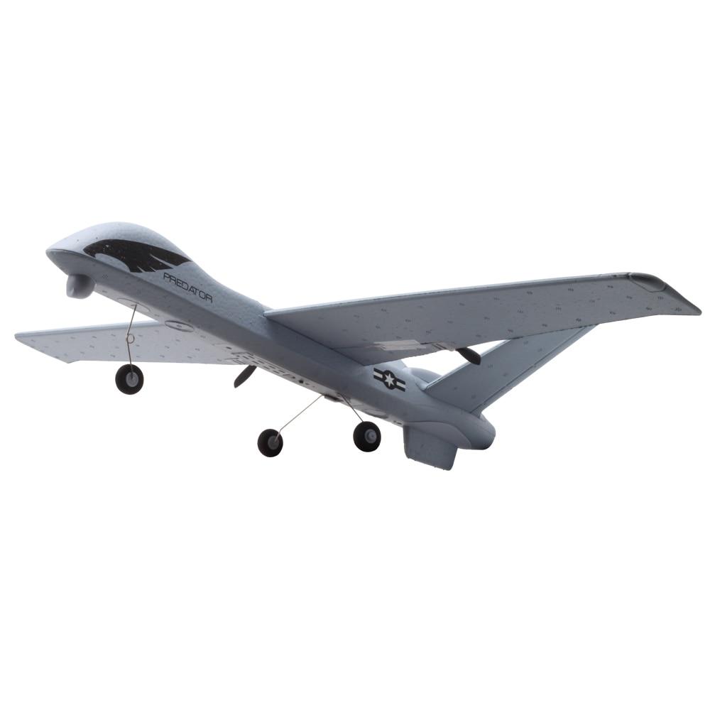 Avion RC Avion Z51 20 Minutes de Temps De Vol Planeur 2.4G Volant Modèle avec LED Main Jetant Envergure Mousse Avion Jouets pour Enfants 4