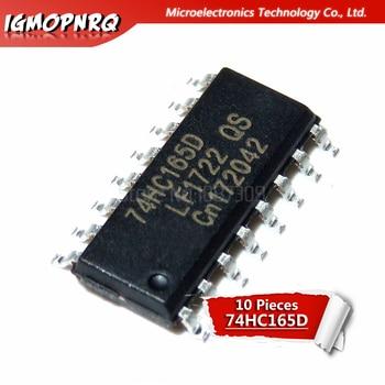 10 Uds 74HC165D 74HC165 SN74HC165D SOP-16 registros de cambio de contador 8-Bit paralelo-Carga nuevo original