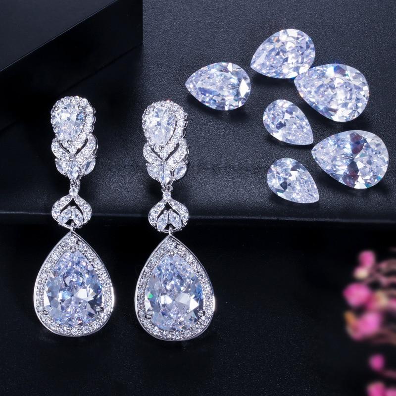 BlingZircons Europäischen Amerikanischen Stil Luxus Lila Kristall - Modeschmuck - Foto 3