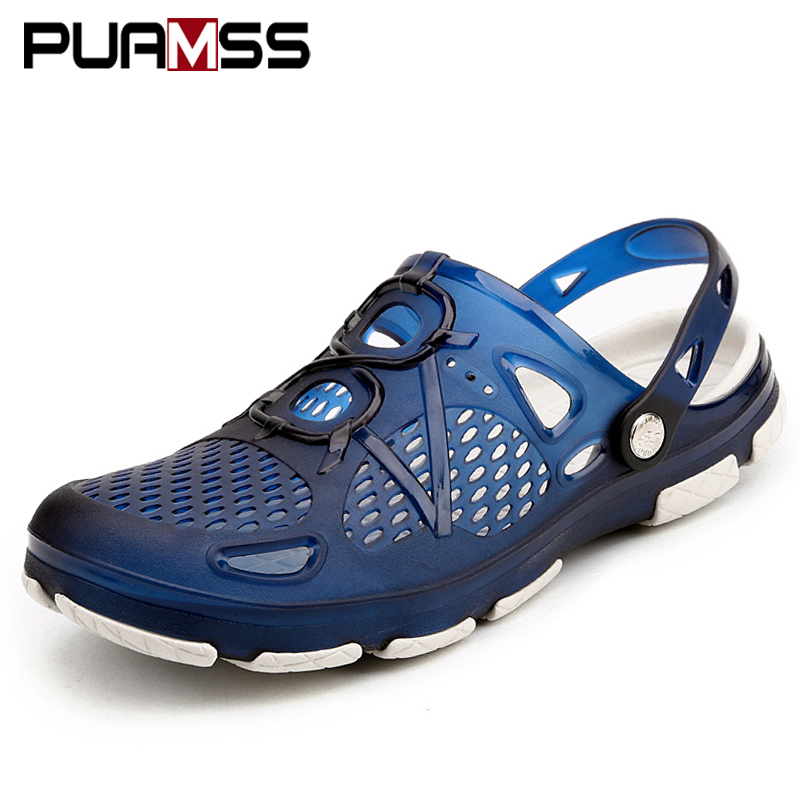 PUAMSS 2019 Men Sandals Summer Flip Flops Slippers Outdoor
