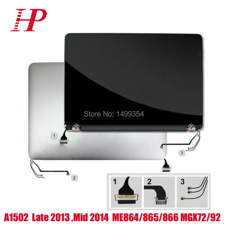 A principios de 2015 EMC2835 A1502 LCD asamblea de pantalla para Macbook Pro Retina de 13 pulgadas completa pantalla LCD Pantalla de reemplazo de pantalla parte