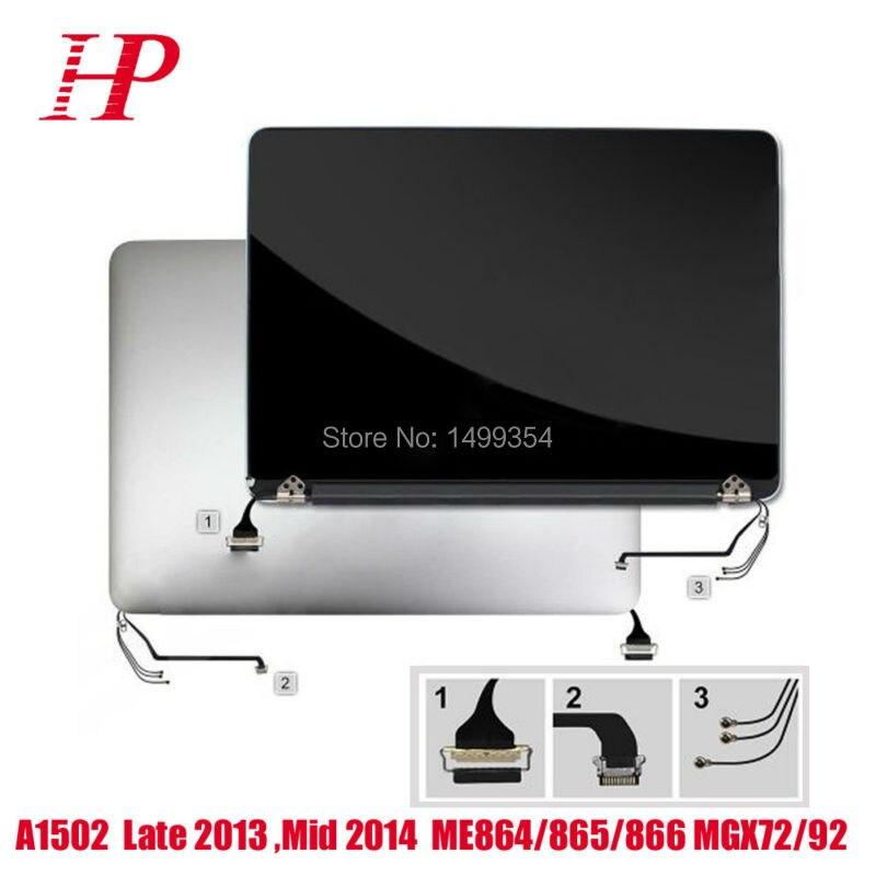 Début 2015 EMC2835 A1502 assemblage d'écran LCD pour Macbook Pro Retina 13 pouces complet écran d'affichage LCD pièce de remplacement d'écran