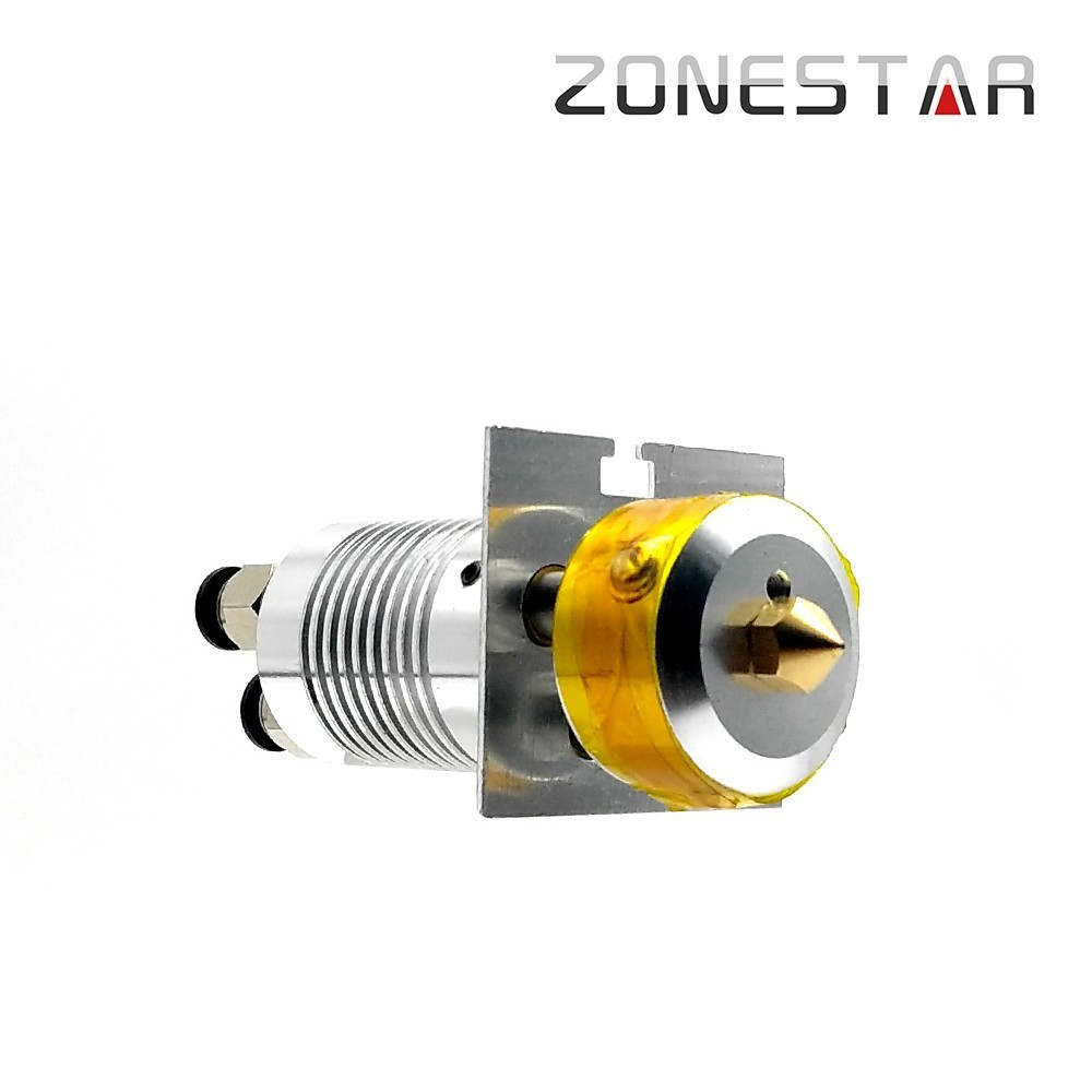ZONESTAR 3-IN-1-OUT Hotend Nozzle 0.4mm 3D Printer Parts Extruder Feed Inlet Diameter 1.75 Filament With Heater Tube NTC SensorZONESTAR 3-IN-1-OUT Hotend Nozzle 0.4mm 3D Printer Parts Extruder Feed Inlet Diameter 1.75 Filament With Heater Tube NTC Sensor