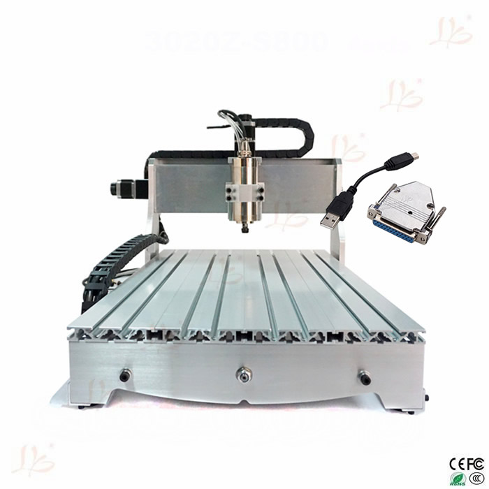 3 axis cnc router machine 6040 800w spindle with USB transfer card,free tax to Russia eur free tax cnc 6040z frame of engraving and milling machine for diy cnc router