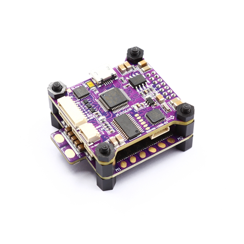 Flycolor Raptor S-Tower F3 Flight Controller 40A ESC BLHeli_S 2-4S Integrated OSD Current Meter For RC Camera Drone FPV Accs