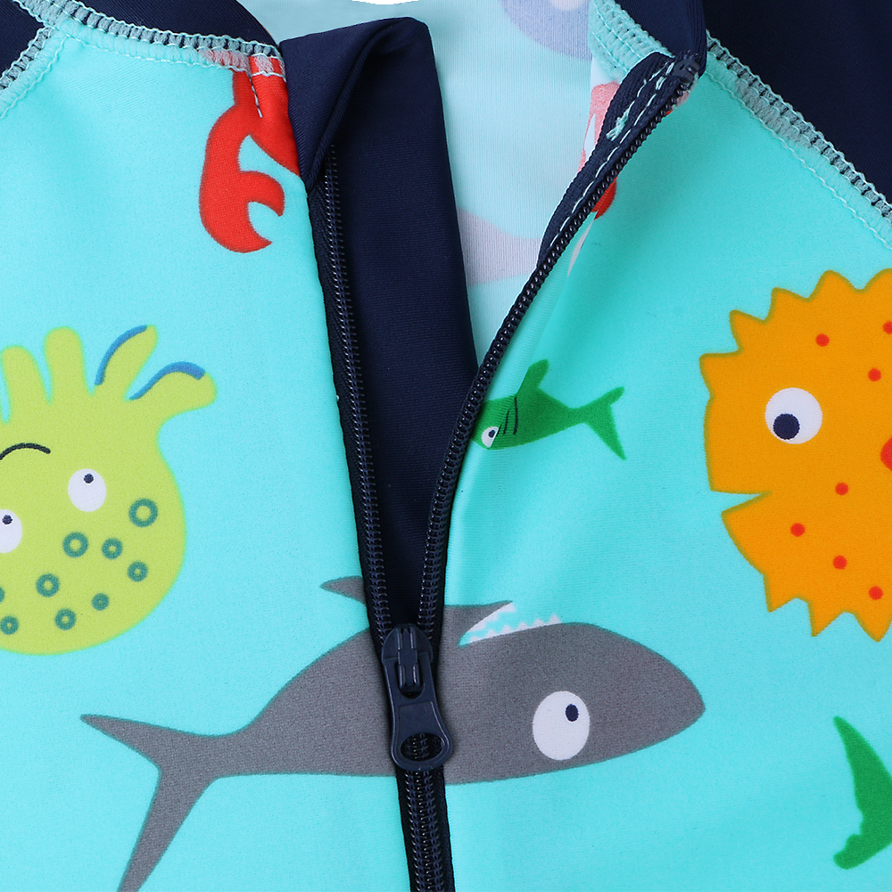 fe7ffd7f0d BAOHULU Boys Swimwear Cute Kids Baby Swimsuit with Cartoon Pattern Toddler Boy  Bathing Suit One Pieces Swim Wear for Children-in Children's One-Piece  Suits ...