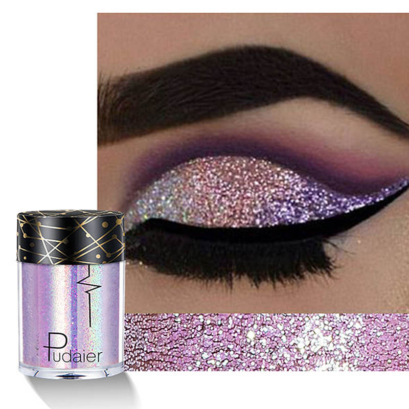 Shellhard Holographicsequin Diamond Colorful Glitter Gel Shiny Body Mermaid Festival Eye Shadow Pigment Makeup Cosmetics Without Return Beauty Essentials
