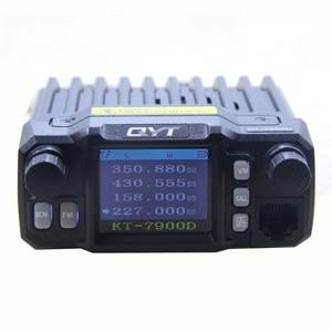Image 4 - QYT מיני רדיו KT 7900D 25W Quad Band 136 174/220 260/350 390/400 480MHZ KT7900D wokï טוקי
