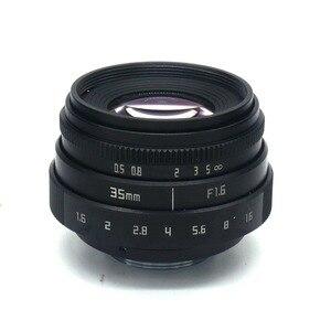 Image 2 - 35mm F1.6 CCTV Objectif Monture C Pour Sony A6500 A6400 A6300 A6000 A5100 A5000 NEX 6 NEX 7 NEX 5T NEX 5R NEX 3N APS C E mount NEX