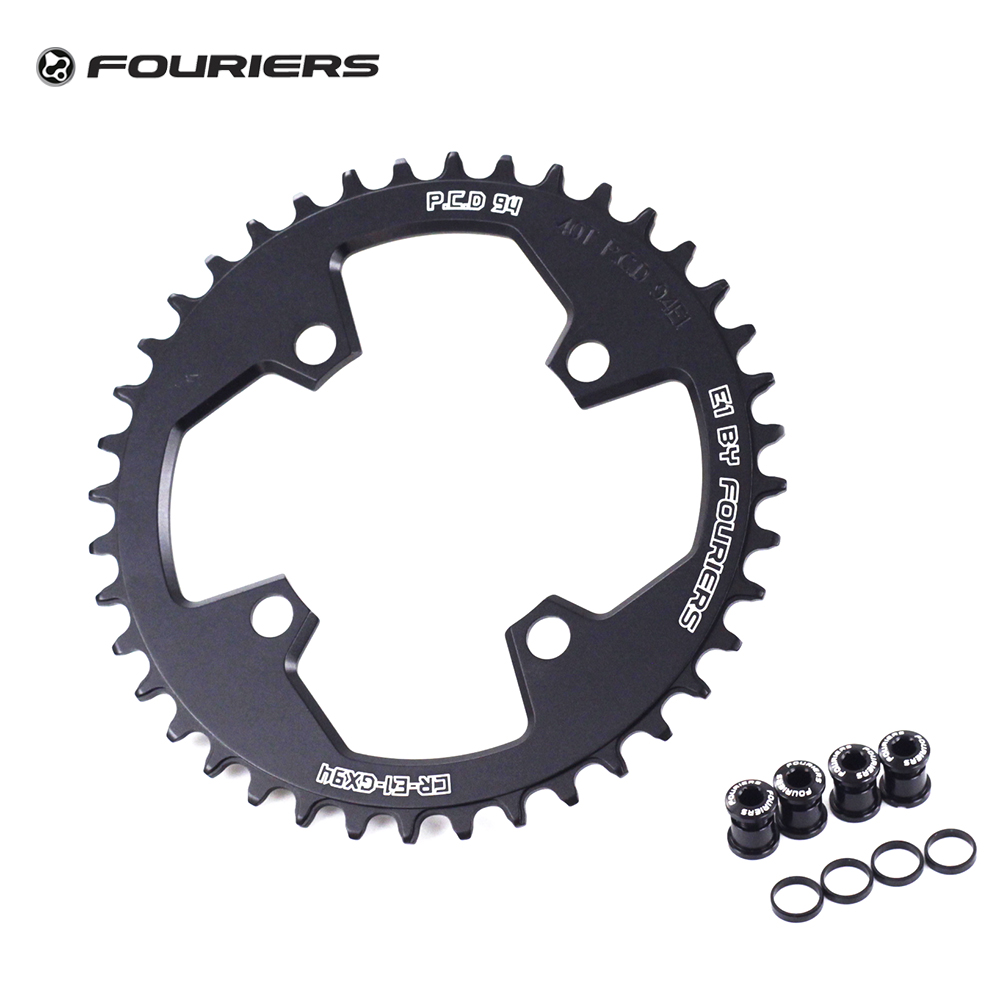 Fouriers AL7075 Single Chain Ring Chainring BCD 94mm 94 32T 34T 36T 38T 40T For SRAM GXP GX X1 NX Narrow Wide Teeth Chainwheel sram xx1 x9 xo gxp bb30