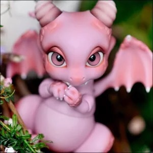 stenzhorn(stenzhorn) BJD / SD /  (Ver.2) aileen DOLL // dinosaur / pink dragons Free Shipping karmart cathy doll 2 in 1 vitamin c tint tinted gluta gloss pink lip korea free shipping