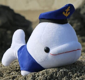cute plush navy whale toy white stuffed high quality dolphin doll birthday gift toy about 29x15cm 2pcs 12 30cm plush toy stuffed toy super quality soar goofy