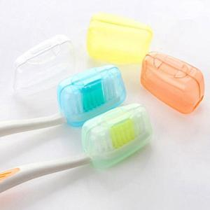 5pcs Fashion Toothbrush Cover Case Cap Travel Accessories plastic Suitcase Holder Baggage Boarding Portable Packing organizer