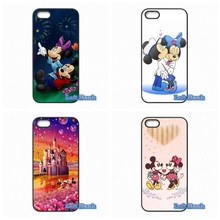 Minnie Mickey Mouse kissing Phone Cases Cover For Samsung Galaxy Note 2 3 4 5 7 S S2 S3 S4 S5 MINI S6 S7 edge