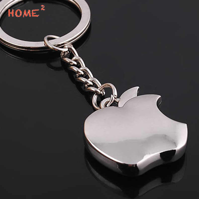 Car Styling Apple Keychain Key Ring Auto Holder Keyring for LADA BMW Audi Subaru Honda Suzuki Toyota Volvo Abarth Alfa Romeo KIA
