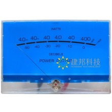 1pcs P-200 Water Blue VU Meter A power Amplifier Tube DB Table Audio Power Meter цена и фото