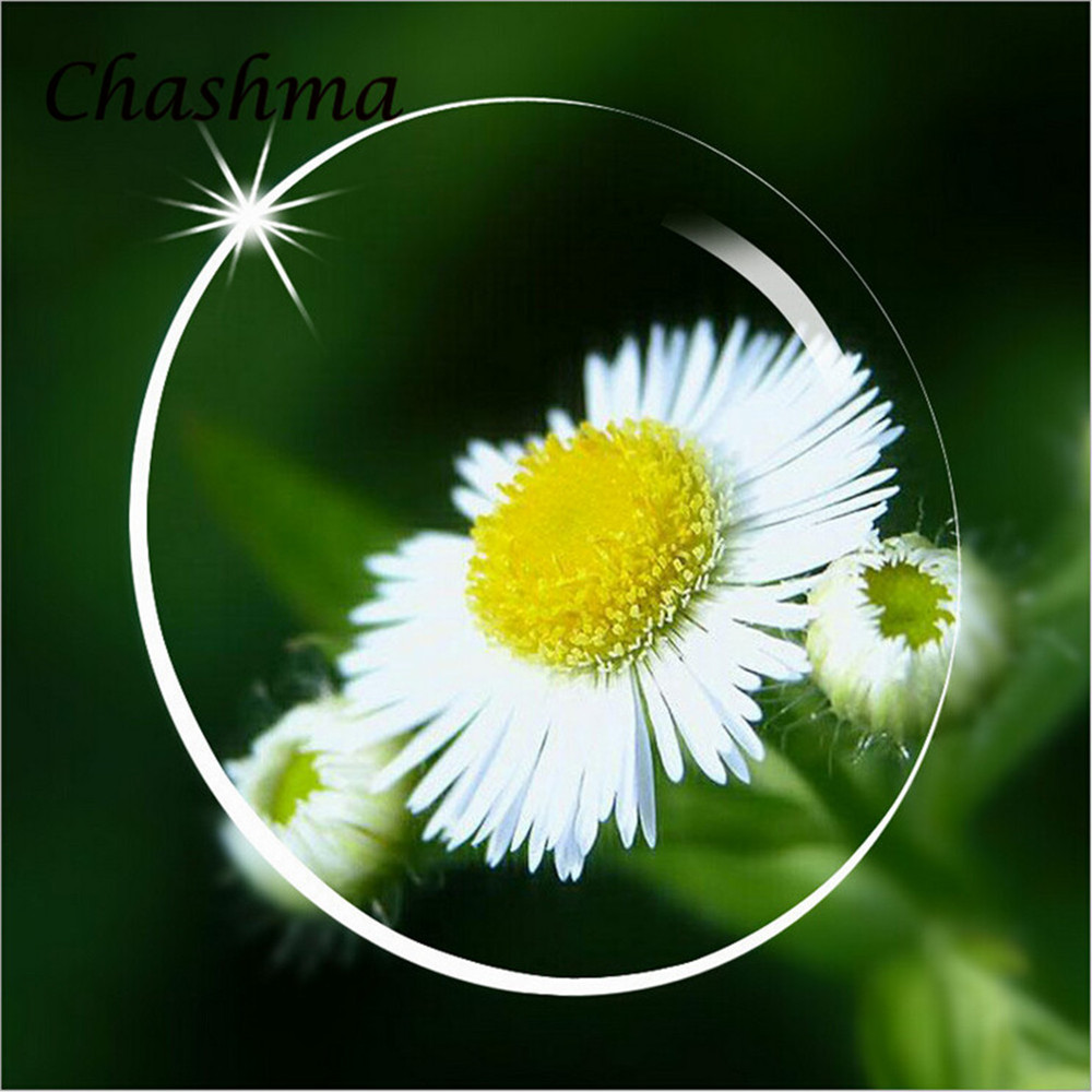 Chashma Brand Aspherical 1.67 Indexlinser Anti Reflective Anti Scratch Eye Recept Lens Ultra Thin Eye Lenses